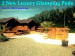2 New Luxury Glamping Pods & 2nd Whirlpool Jacuzzi