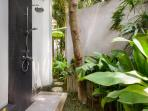 The 'Temple' Bathroom - Outdoor Shower