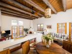 Two Casitas- Old Santa Fe Trail- Elegant, Sunny, Stylish