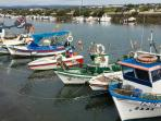 Fuseta fishing boats