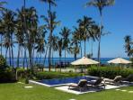 Villa Anggrek - infinity pool overlooking Lombok Strait
