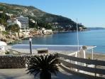 The main beach of Dubrovnik, Banje (10 min walk)