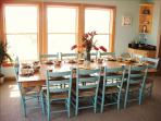 12 dining and 4 at the kitchen island are great for large group meals together!