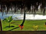 Veranda by Cassange lagoon