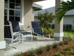 Enjoy Florida living on the front porch.