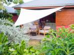 Terrasse salon / coin repas