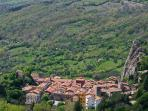 Roccalbegna 7 kilometers from the property, is the nearest village with shops, restaurants, bars ...