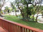 See Villa Bonita 1 from Apt 7 at Villa Bonita 2 and the pool area