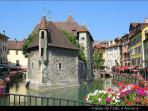 Annecy  veille ville - les veilles prisons