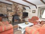 Lounge & log burner