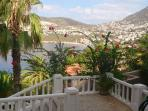Beautiful gardens overlooking the bay and Kalkan