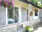 Deganwy cottage, Plas Heulog, Llanfairfechan with verandah for relaxing