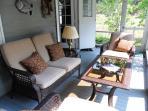 Delightful screened in sun porch