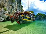 hire boats from our apartments HALONG BAY IBIZA CRUISE LEADING HALONG BAY CRUISE