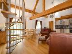 Living / Dining of The Hayloft