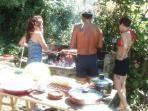 Barbecue con gli amici