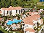 WorldQuest Orlando Resort aerial view