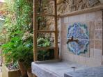 Fontaine du patio