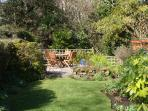 'Secret Garden' - Idyllic peaceful, private terrace next to gentle stream.