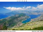 Kotor Bay leading to Adriatic Sea