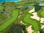 Fontana Golf Club is only 400 m away!