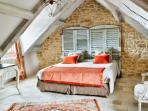 chambre avec lit double ou lits séparés