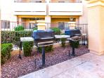 Grills at Canyon Pool (w/your balcony in background!)