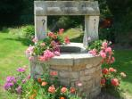 Our ancient well, which we have fully restored
