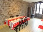 Les hauts de Camarès - Gîte Dourdou - cuisine / salle à manger