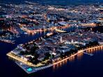Zadar - Europen best destination for 2016. (just 6 km from Bibinje)