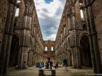 Wedding at SAn Galgano Abbey 7Km