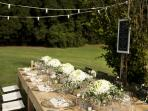 Rustic-chic wedding celebrations.