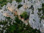 The hermitage of Gorge de Galamus makes a fantastic walk.