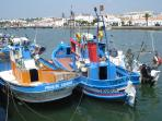 Tavira Fishing Boats