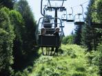 Graukogel  lift summer open. Easy up, walk down...