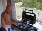 priprema ulovljene ribe