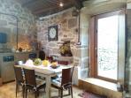 comedor y puerta terraza