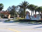 Bella Vida Resort gated entrance, safe and secure