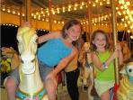 At the Fireman's Carnival - your kids will love this old-fashioned hometown fair