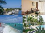 Your Paradise next to the beach and the Ocean. Luxury Beach Apartment fully equipped, enjoy :-)