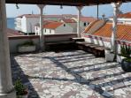 terrase with beautiful viuew to see and on centar of town
