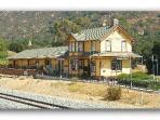 Santa Susana Historical Railroad Depot & Museum 5 minutes away
