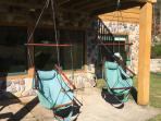 Relax in an air chair