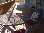 Enormous deck
