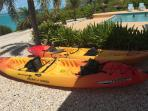 We now have kayaks available to rent!