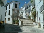 Frigiliana cobbled streets.