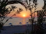 Sunset in Calis Beach