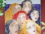 Mediterranean wall art