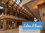 Great shopping at Eden Plaza