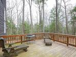 Unwind on the deck of this Hanover vacation rental home.